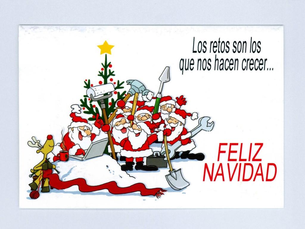 Felicitaciones de navidad gr ficas bidasoa s l - Como hacer una felicitacion de navidad original ...